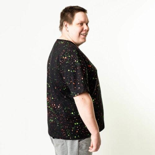 Pentti puseron T-paitaan mahtuu