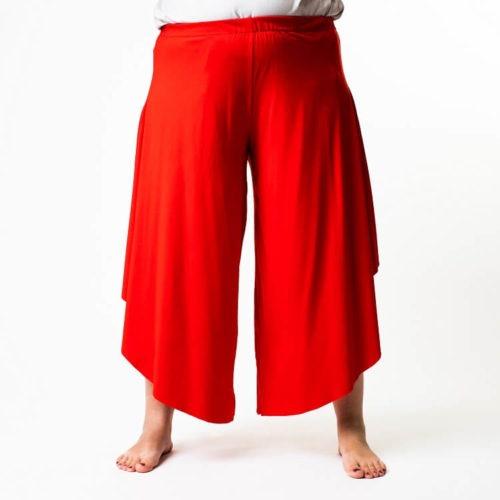 Väljät Rebekka housut ompelukaava
