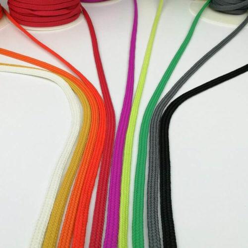 Ompelukaavoissa voi käyttää eri värisiä naruja ja nauhoja