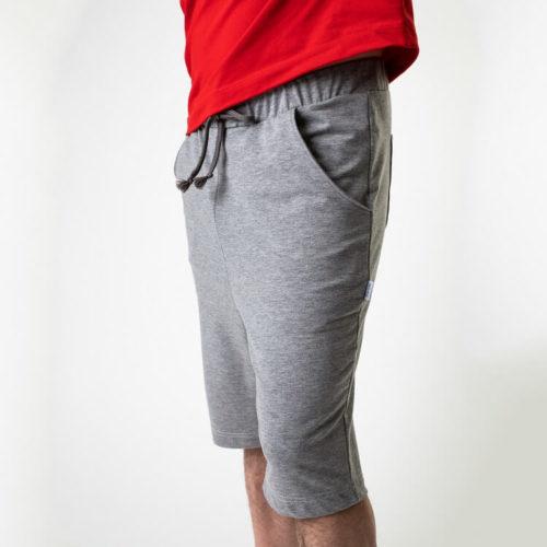 Miesten Ragnar housut ompelukaava lyhyillä lahkeilla