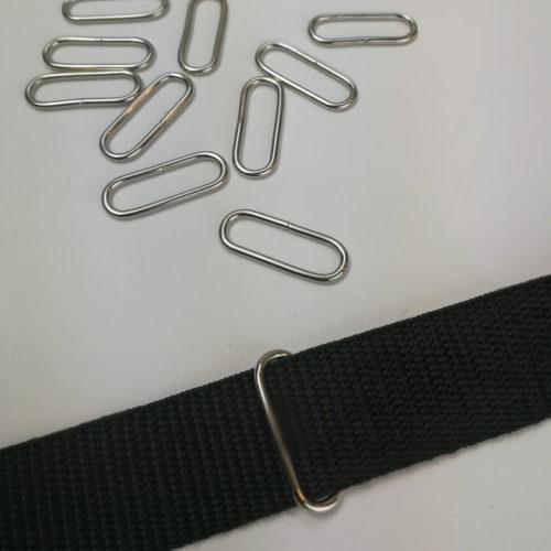 Lankalenkki 25 mm leveälle nauhalle