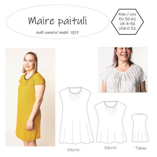 Naisten Maire paituli on mukava kesä paita