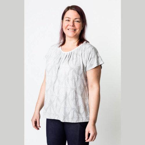 Tyylikäs Maire paituli T-paita ompelukaava