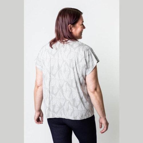 Maire paitulin ompelukaava T-paita pituus