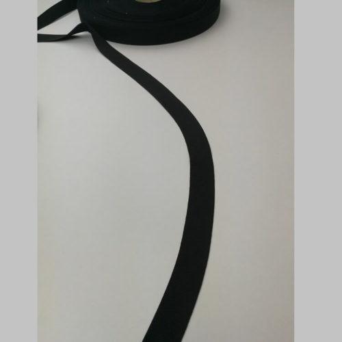 Edullinen kotimainen ripsinauha 20mm musta