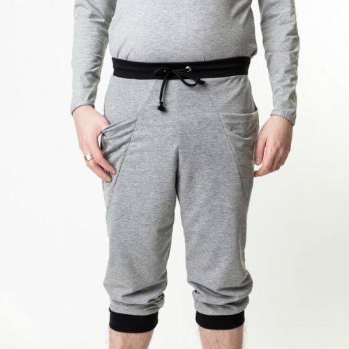 Salomo baggy housut sopivat isoille miehille