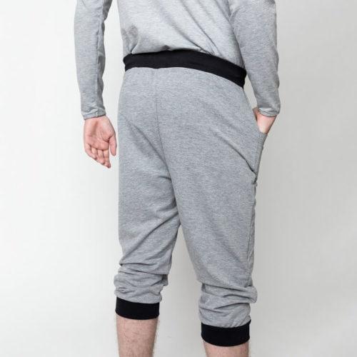 Salomo baggy housut voi tehdä myös shortsi pituuteen