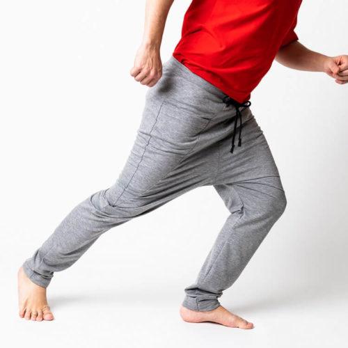 Miesten kaava Salomo baggy housuissa haara voi olla alempana tai ylempänä