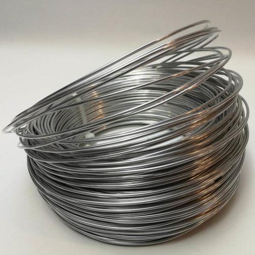 Alumiininen karkaasi hatun lieriin Millinery Wire