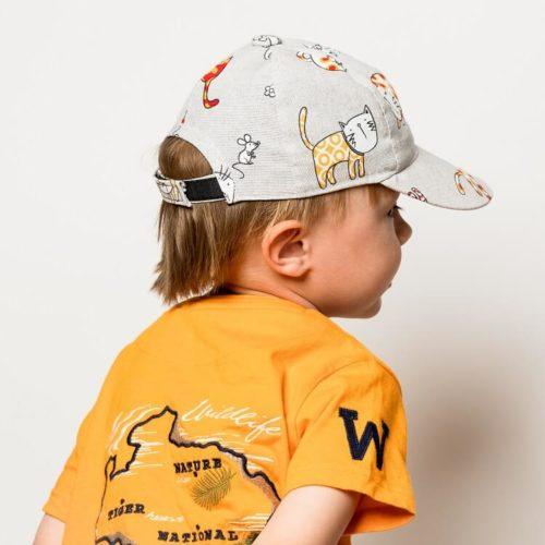 Lippis ompelukaava lastenhattu. Hattukaava kokosäädöllä