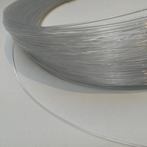 Muovinen karkaasi myydään 10 cm välein Millinery Wire
