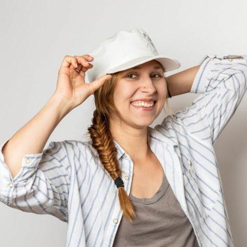 Ukonhattu ompelukaava lippalakki naisten hattu