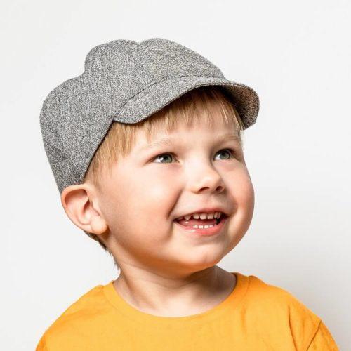 Kilpukka lippiksen lapsen hatun ompelukaava