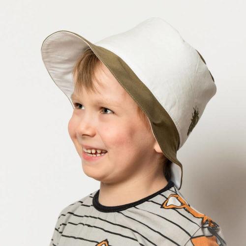 Lehtosinilatva hatun ompelukaava lapselle