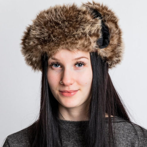 Tyylikäs Nikita turkishattu ompelukaava fur hat pattern