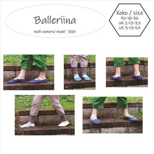 Lasten paljasjalkakenkien ja tossujen kaavat barefoot shoe pattern for children 33 sizes