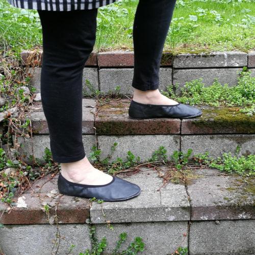 Aikuisten paljasjalkakenkien ja tossujen kaavat barefoot shoe pattern