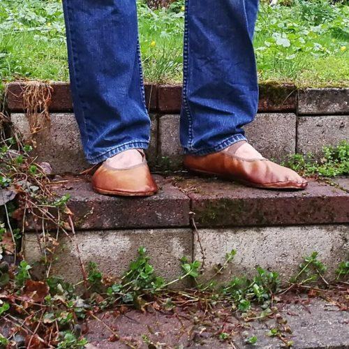 Aikuisten paljasjalkakenkien ja tossujen kaavat leather barefoot shoe pattern many sizes