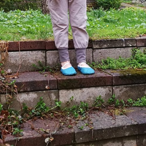 Lasten paljasjalkakenkien ja tossujen kaavat barefoot shoe pattern for a child multiple sizes