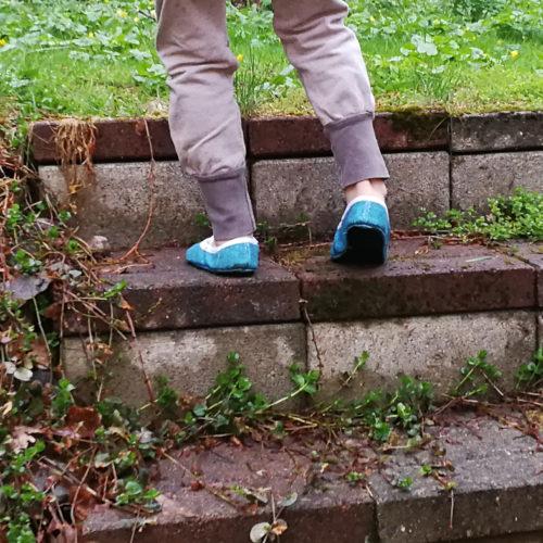Lasten paljasjalkakenkien ja tossujen kaavat barefoot shoe pattern