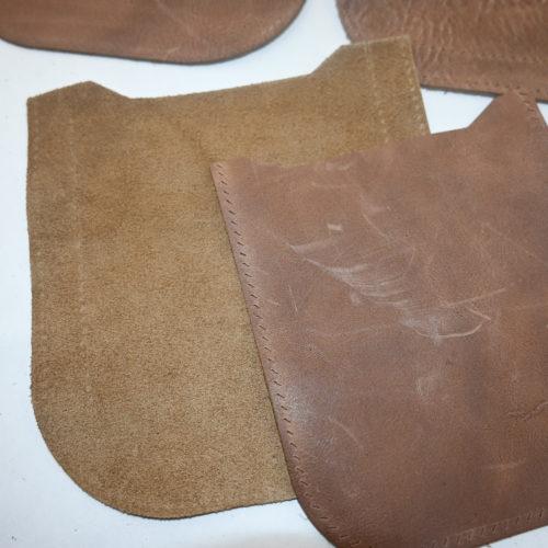 Ompelupaketti nahkainen laukku, ompele itsellesi nahkalaukku