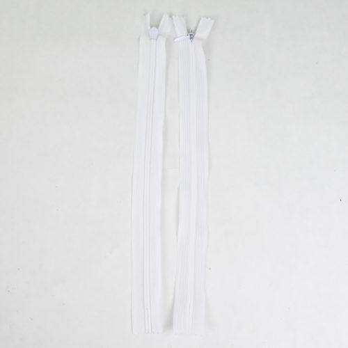 Piilovetoketju valkoinen 28 cm