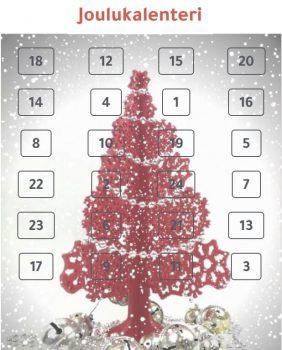 joulukalenteri luukuilla